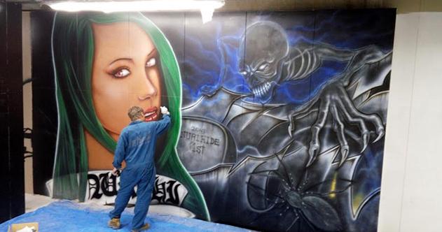 壁画アート カスタムペイント